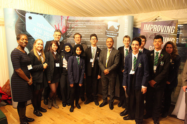 Peshkar and Oldham / Lancashire Schools Go To Parliament